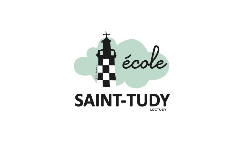 Logotype, identité graphique école Saint-Tudy, BENELELA