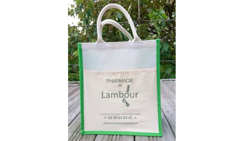 Cabas, sac en toile, communication par l'objet, goodies