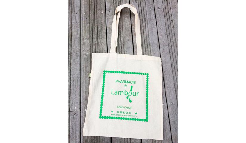 Gabarit tote bag, sac en tissu, communication par l'objet, goodies