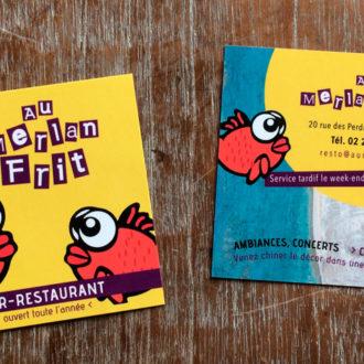 cartes de visite restaurant Loctudy