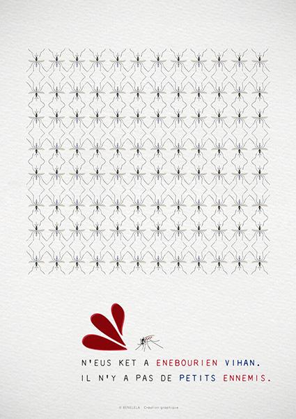 Graphiste-bretonne-finistère-Pont-l'abbé-Loctudy-benelela-illustration-création graphique-moustiques