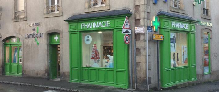 Vitrophanies – Pharmacie de Lambour