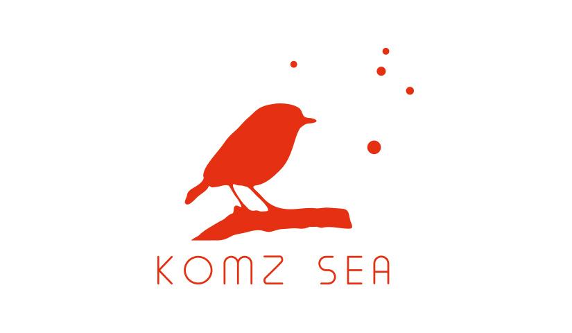 Logo Komz Sea - BENELELA - Graphiste Loctudy | Pont-l'abbé