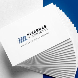 Logo Pizarras réalisé par BENELELA, graphiste à Loctudy et Pont-l'Abbé