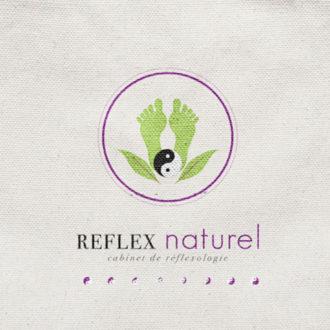 Graphiste à Loctudy et Pont-l'abbé, Benelela a réalisé le logo de du cabinet de réflexologie RN