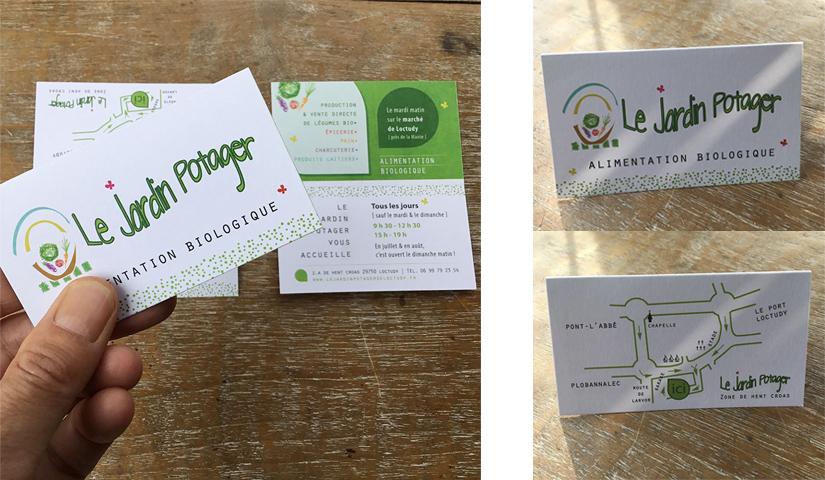 Communication, cartes de visite, BENELELA, Graphiste à Loctudy | Pont-l'Abbé