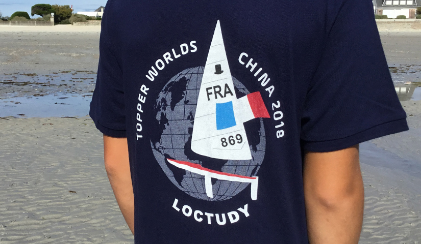 Visuel equipe de France 2018-Mondial Chine- BENELELA Graphiste