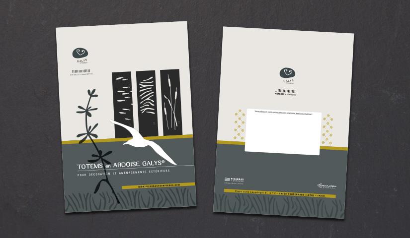 catalogue totems BENELELA | Graphiste