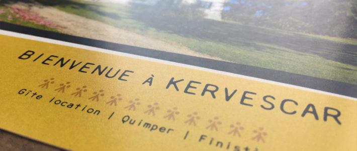 Carte postale – KERVESCAR