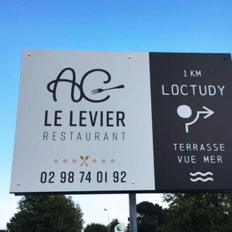 signalétique restaurant Loctudy