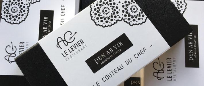 Identité visuelle – Restaurant AC LE LEVIER