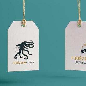 Logos, visuels FIDÉZIL | BENELELA - Création graphique Loctudy | Pont-l'Abbé
